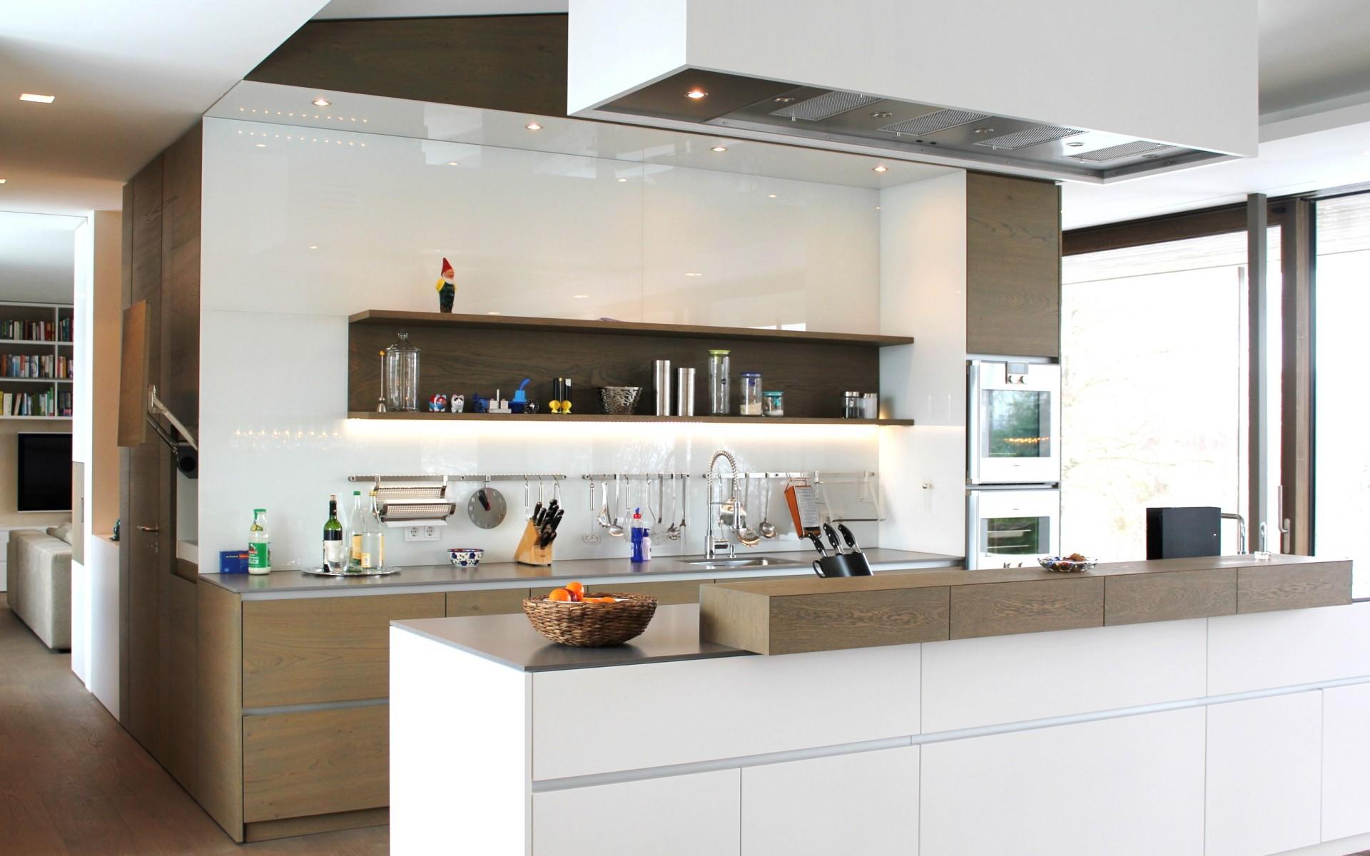 Cocinas blancas modernas sin tiradores cool cocinas - Tiradores de cocina modernos ...